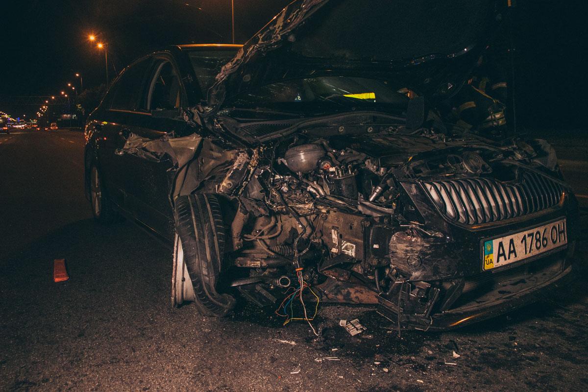 По предварительной информации, водитель Skoda был пьян