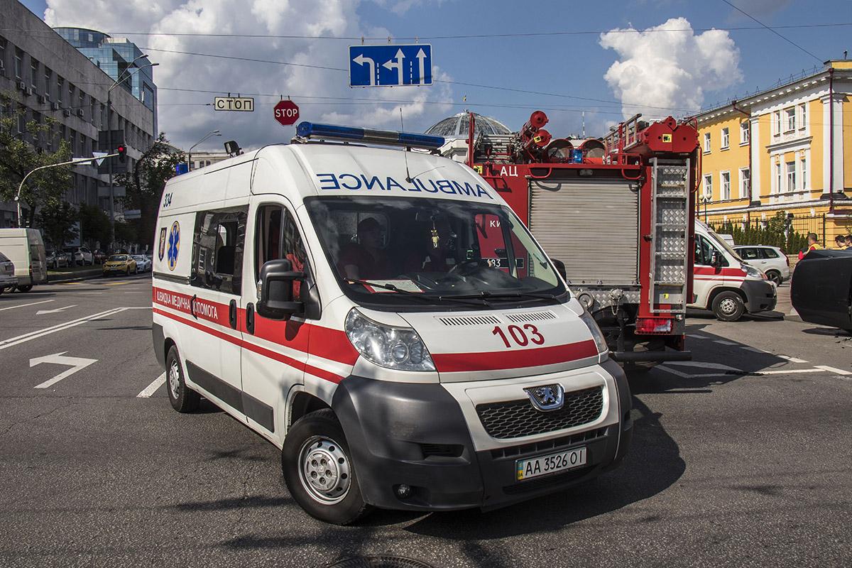 На место прибыли медики и пожарные