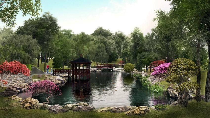 В зоопарке Киева скоро обустроят несколько озер: декоративное, пеликановое и карповое