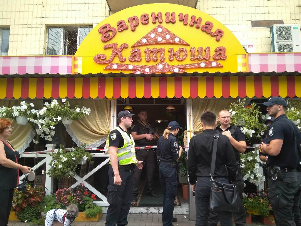 """Стрельба произошла в """"Катюше"""" на бульваре Леси Украинки"""