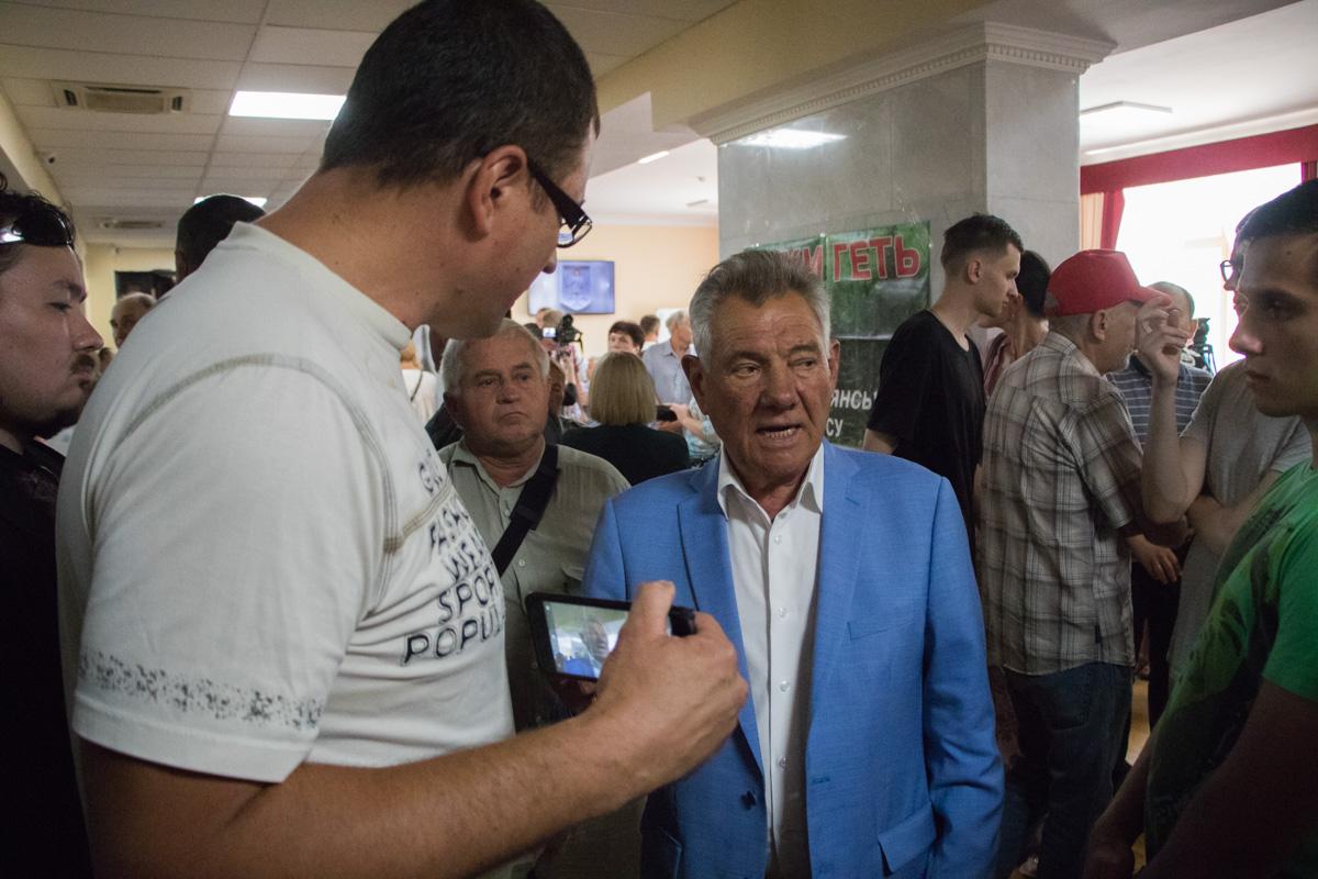 Бывший мэр Киева Александр Омельченко
