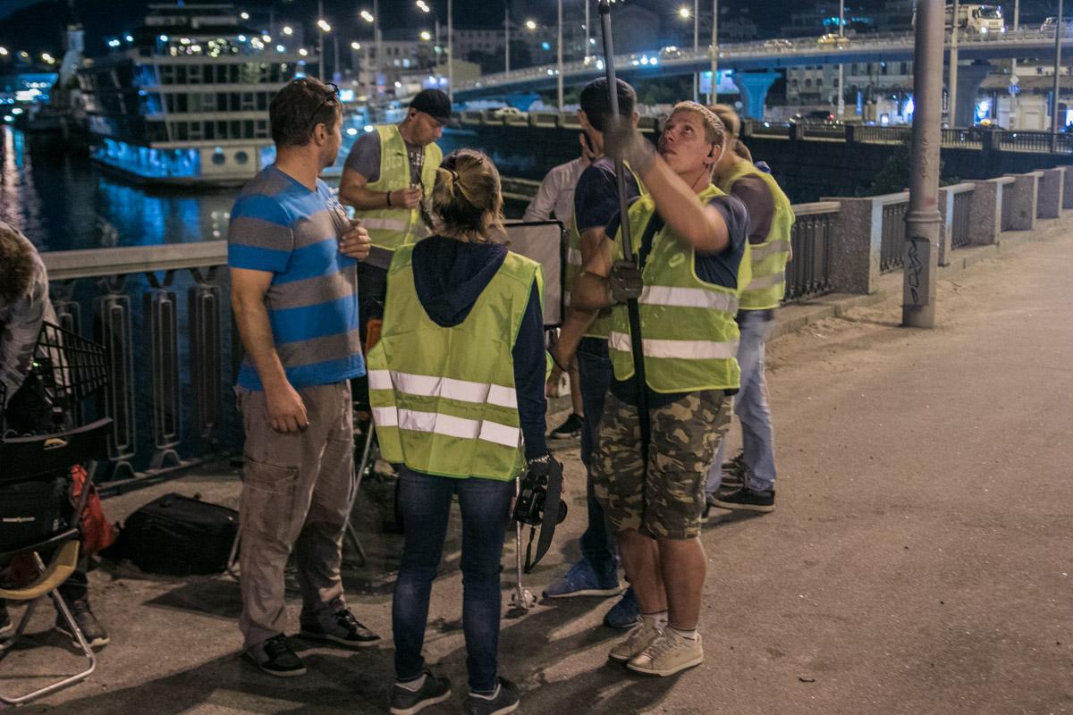 11 июля в Киеве было затруднено движение на заезде на Гаванский мост