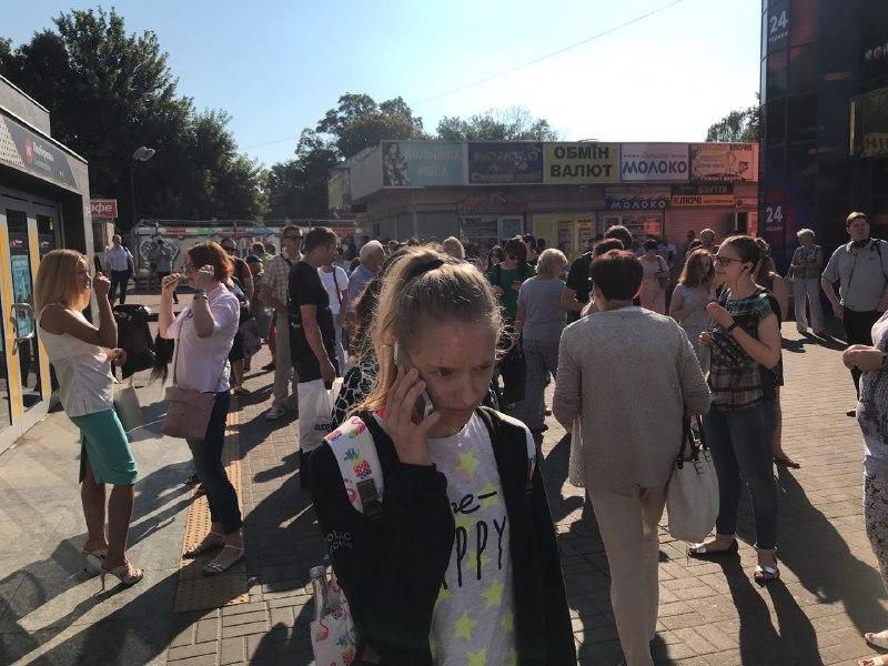 16 июля в Киеве сообщилио минировании станции метро «Левобережная»