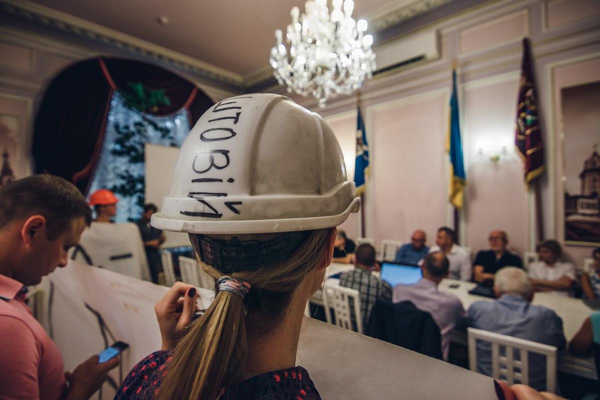 Общественные активисты пикетировали Управление защиты культурного наследия