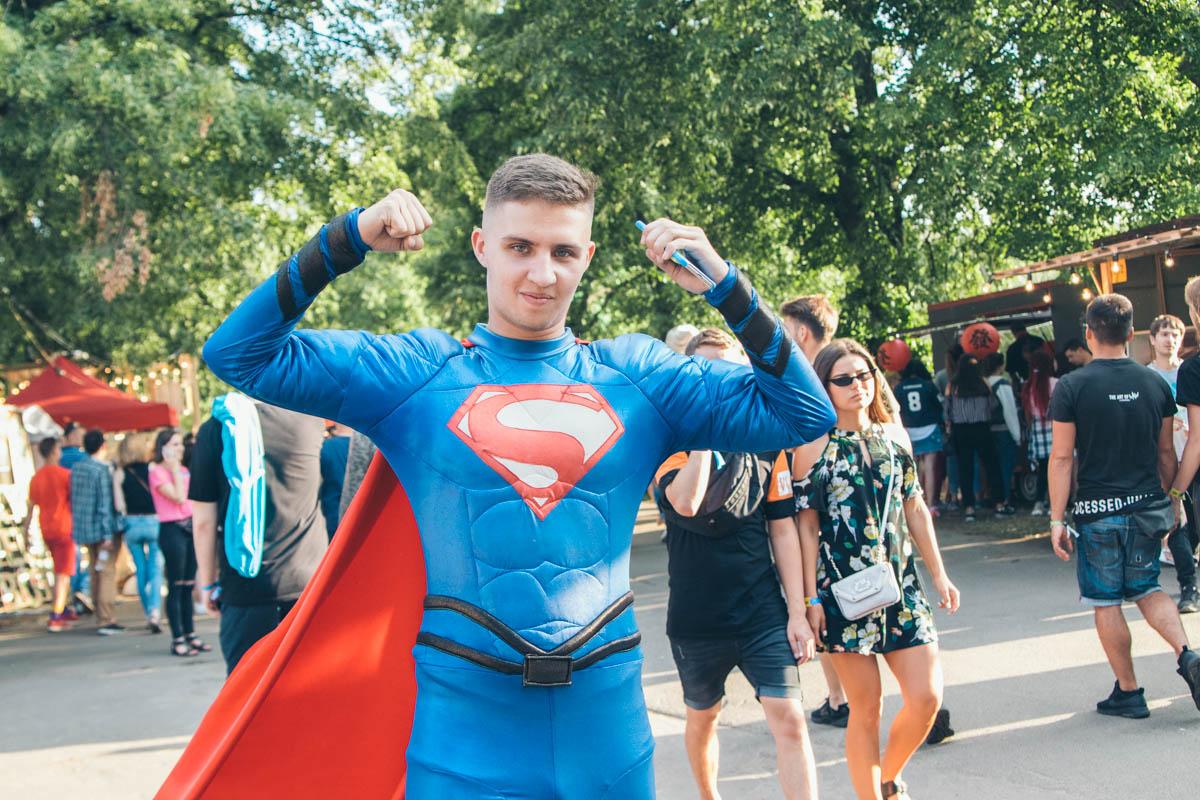 А вот и супермен!