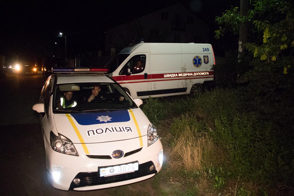 На месте дежурили медики и полиция