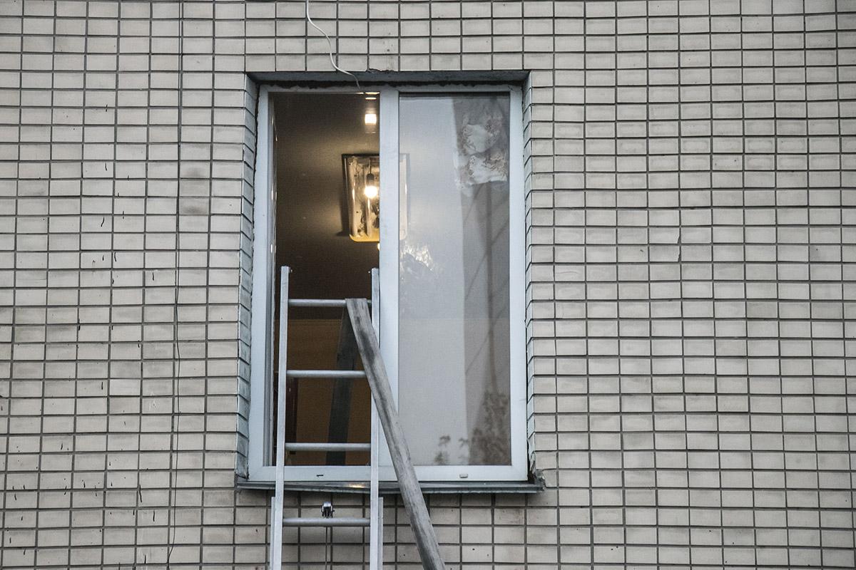 15 июля в Киеве на улице Кибальчича, 11б произошел пожар