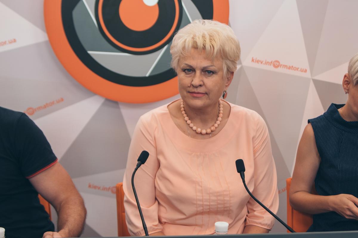 Татьяна Тимочко, глава Всеукраинской лиги экологов
