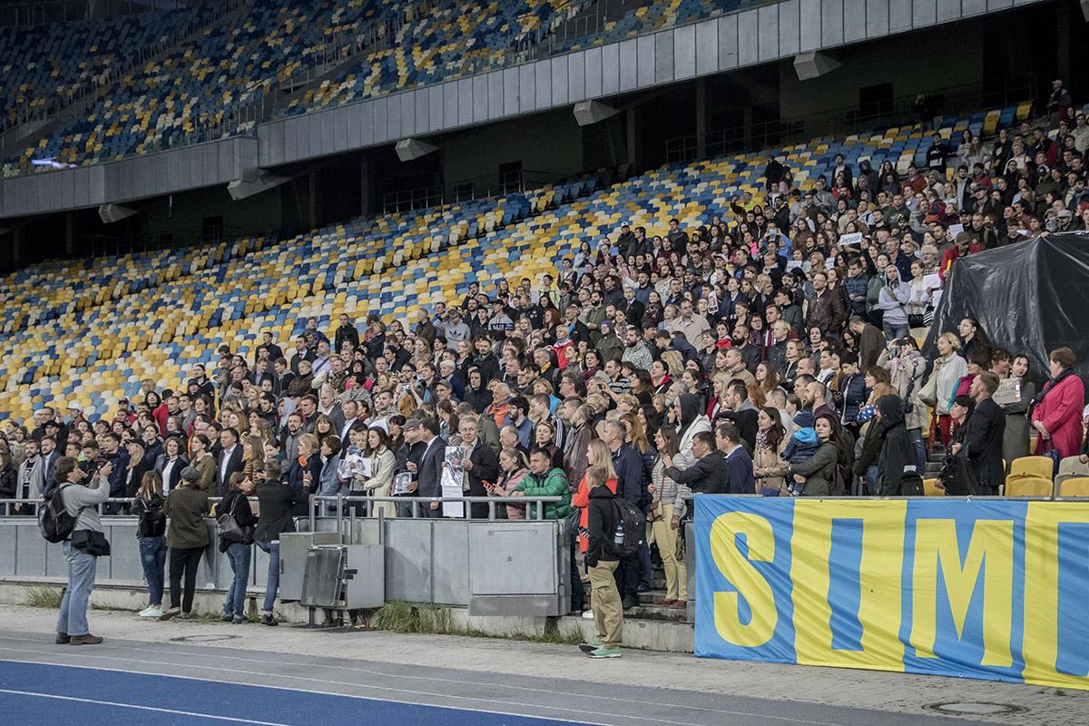 """В один голос присутствующие скандировали: """"Свободу Сенцову"""", """"Один за всех и все за одного"""""""