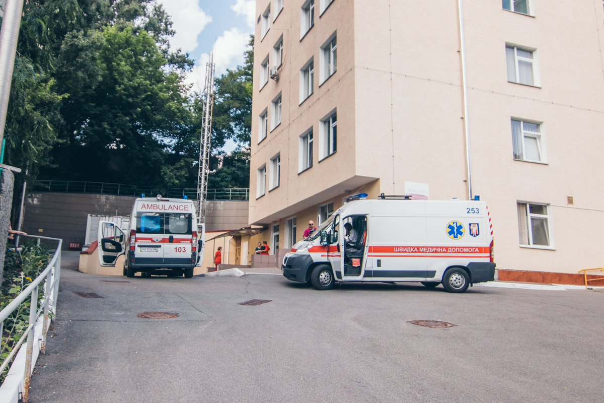 Часть потерпевших отправили на лечение в Александровскую больницу