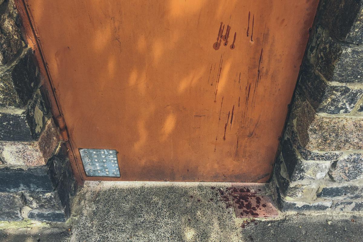 Ворота дома 69а по улице Заречной