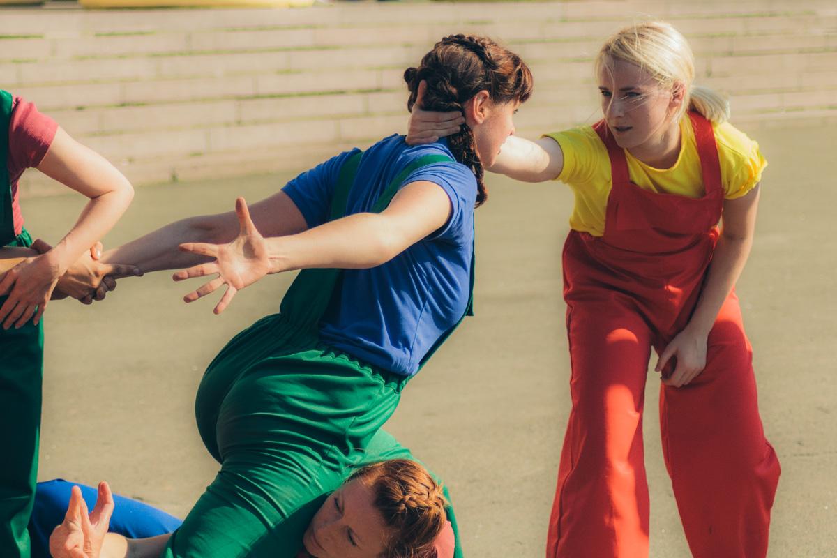 Историю танцоры рассказывали не только движениями, но и эмоциями