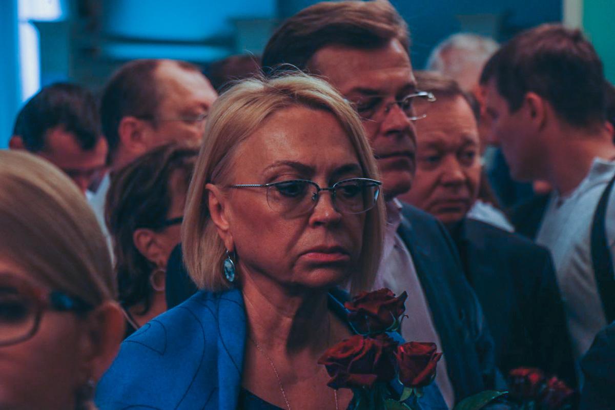 Александра Кужель также посетила церемонию