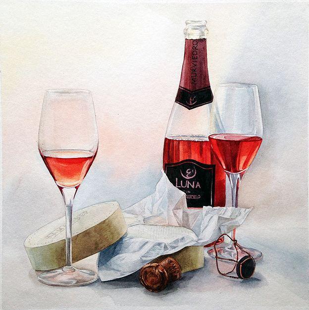 Тут можно выпить вина и научиться рисовать