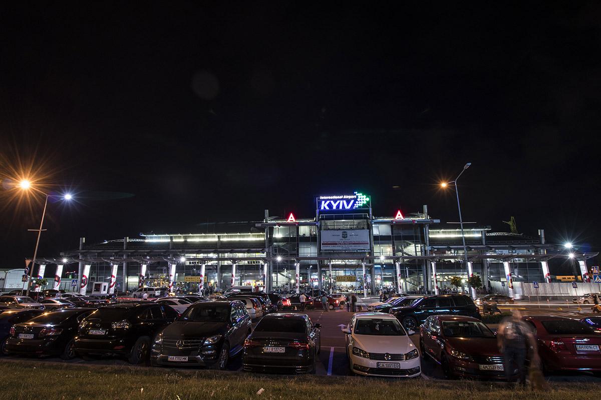 """Аэропорт """"Киев"""" в ожидании ночных путешественников"""