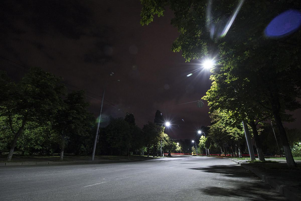 Ночью здесь практически никого не встретишь