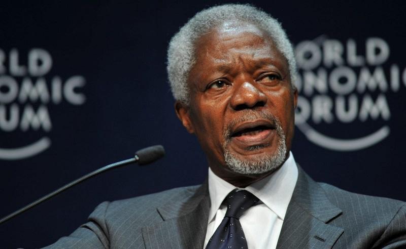 На 81 году жизни умер бывший генеральный секретарь ООН Кофи Аннан