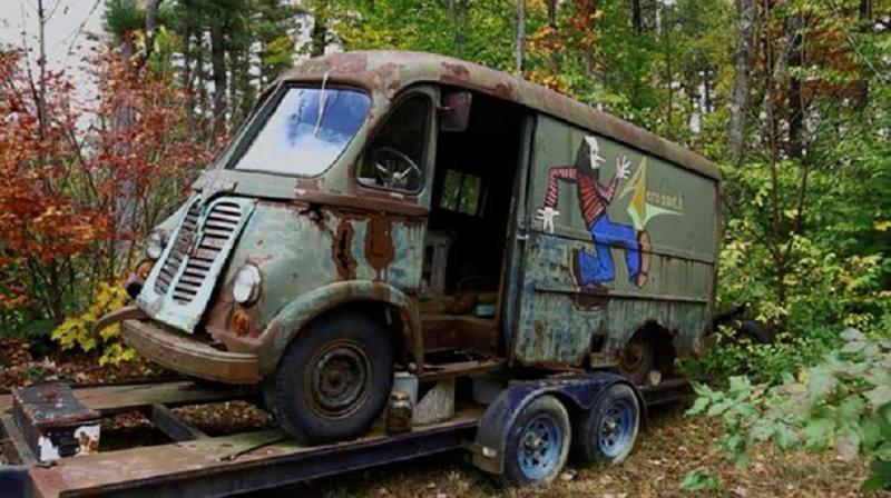В США нашли старый микроавтобус, который когда-то принадлежал группе Aerosmith