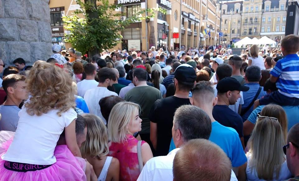 Пробка в центре Киева
