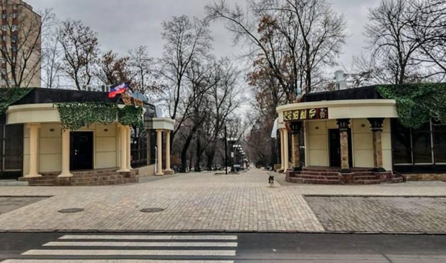 """Кафе """"Сепар"""", рядом с которым взорвали джип Захарченко"""