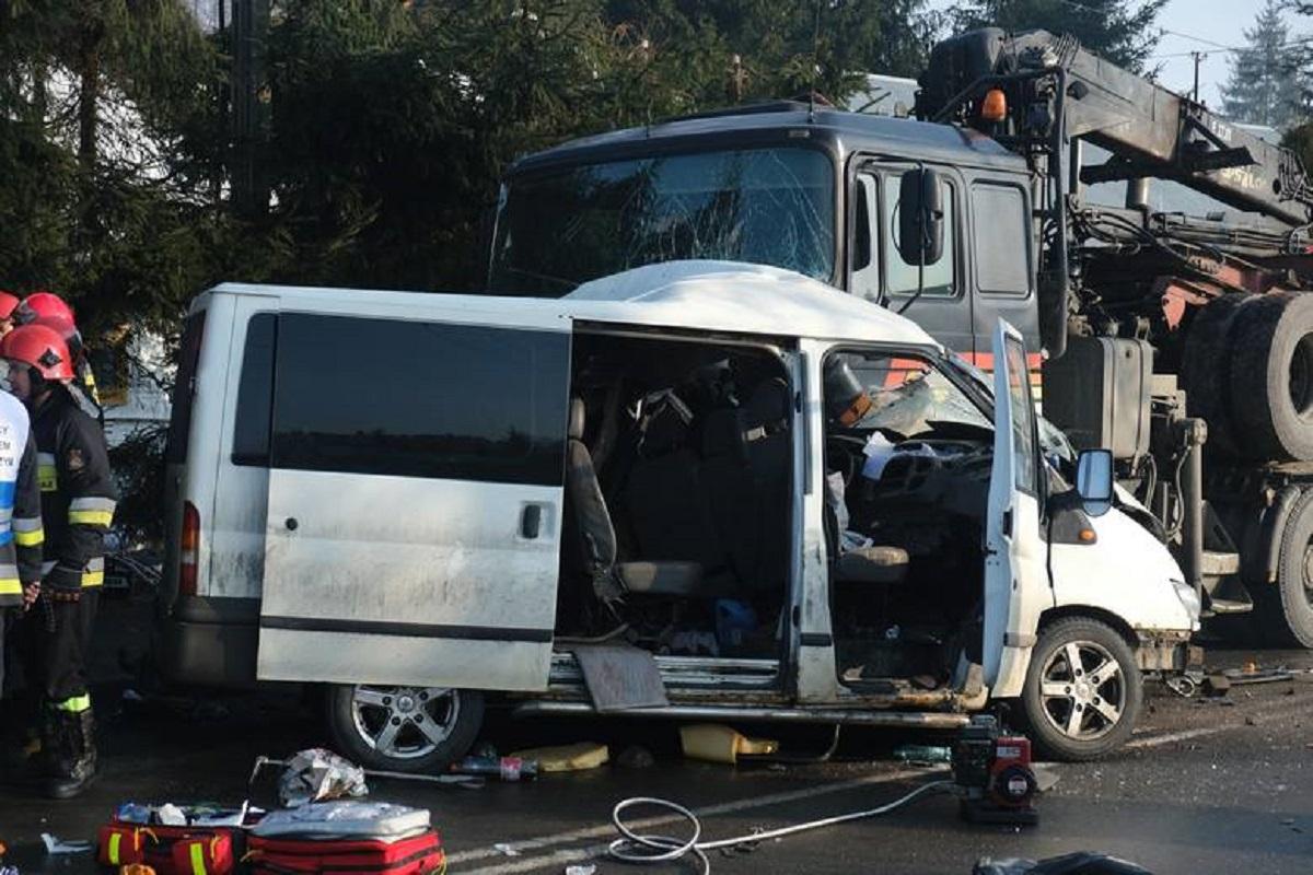 В Польше во время аварии погиб украинец