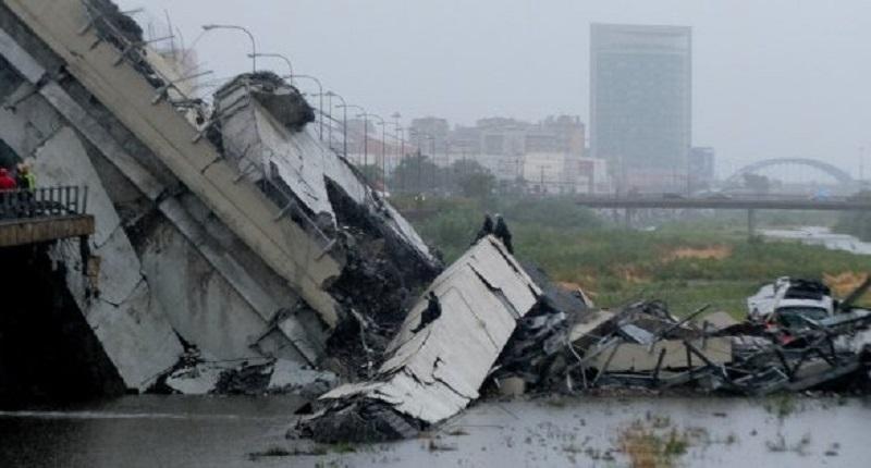 В Италии обвалился мост. Погиб 41 человек
