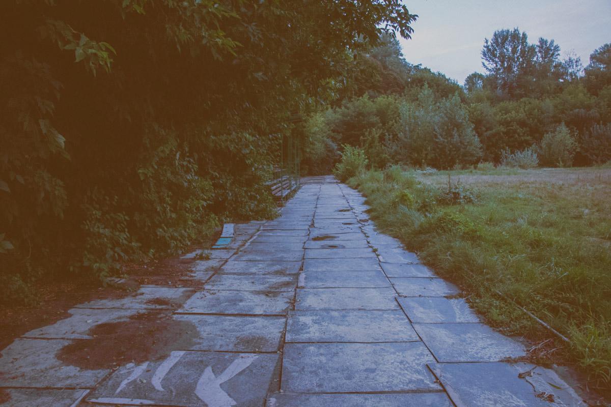 И все же не советуем вам гулять тут в одиночестве ночью