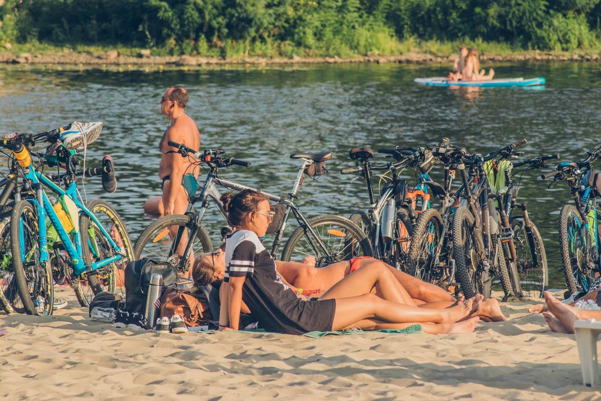 Совмещать велопрогулки с отдыхом на пляже - отличный выбор