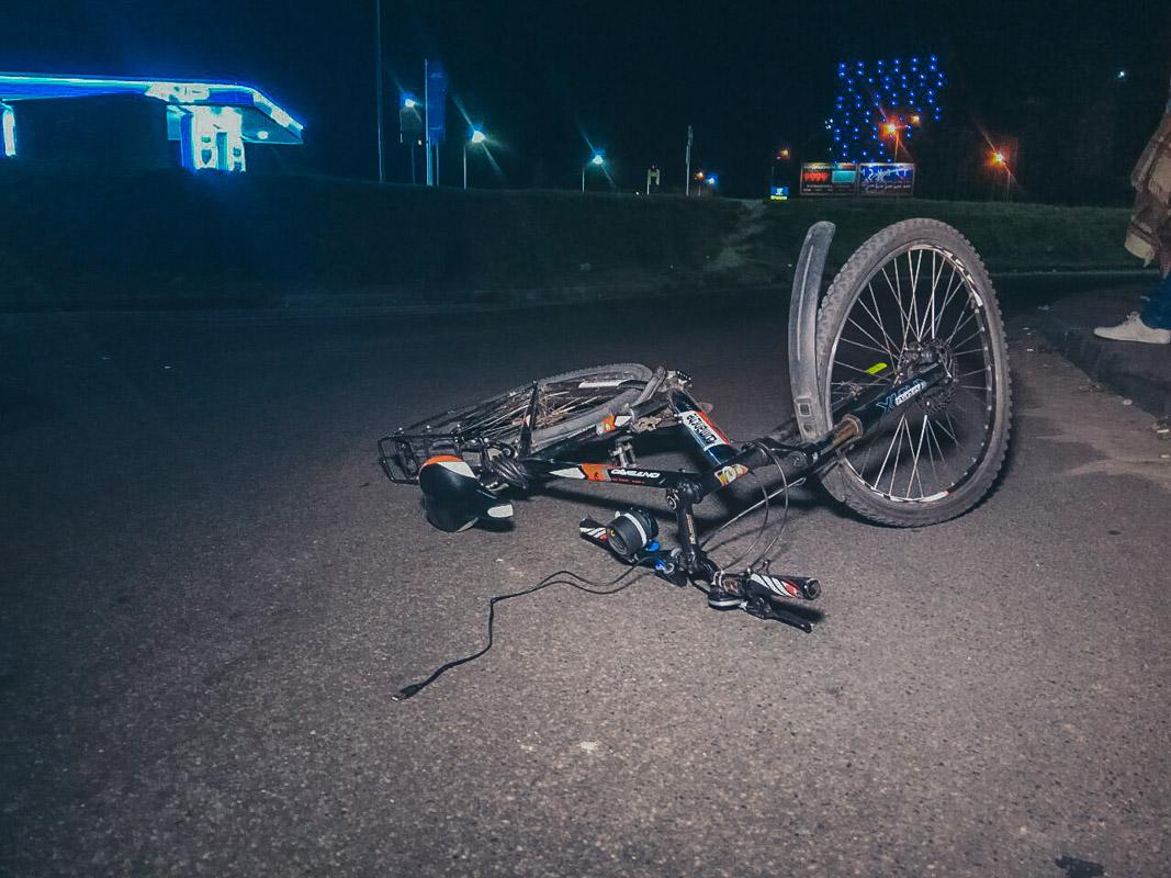 Велосипед существенно поврежден
