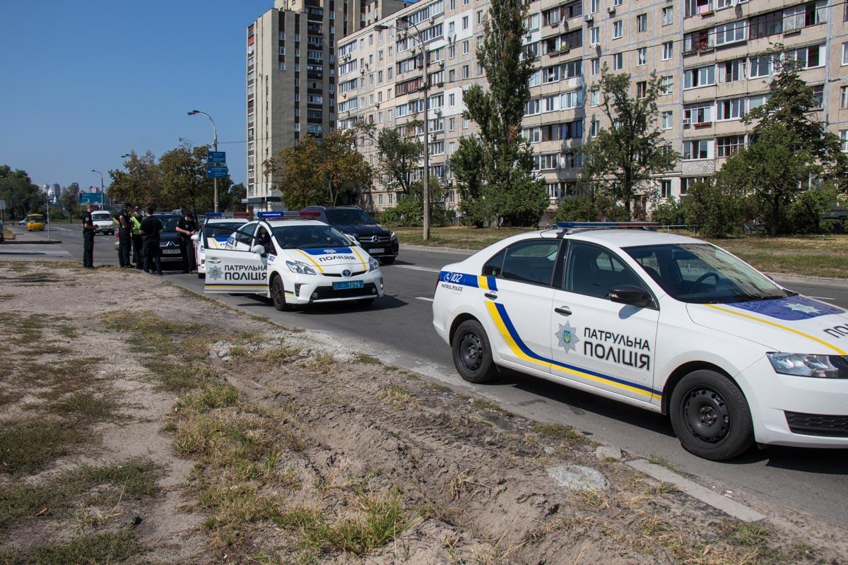 Водитель хотел скрыться с места, потому полиция начала погоню
