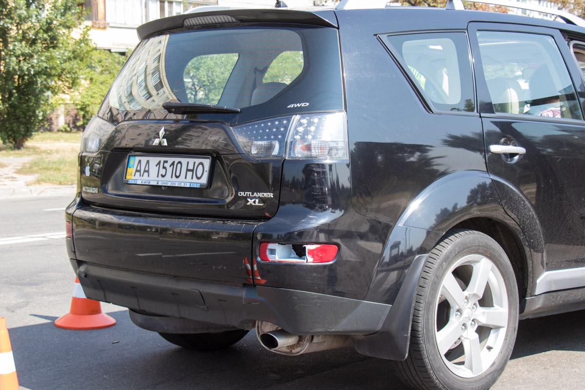 "Система ""Рубеж"" сработала на номераMitsubishi и правоохранители остановили авто в Голосеевском районе"