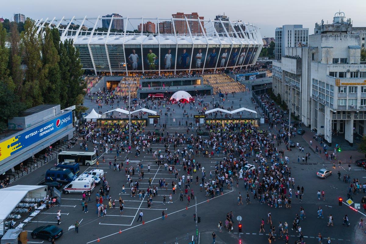 В Киев с концертом приехали американские рокеры Imagine Dragons