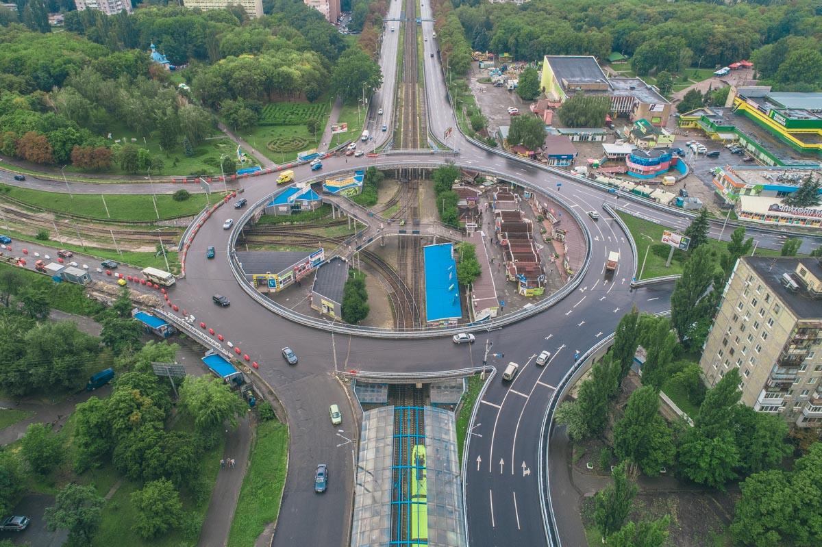Столичные власти объявили о том, что планируют ремонт на Кольцевой транспортной развязке