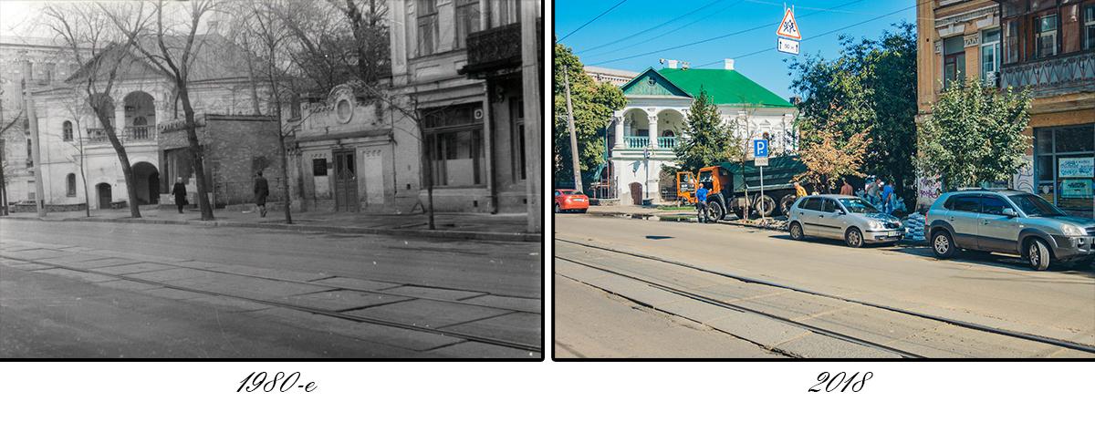 Изначально улица называлась Цареконстантиновской, с 1830-х годов — Кирилловская