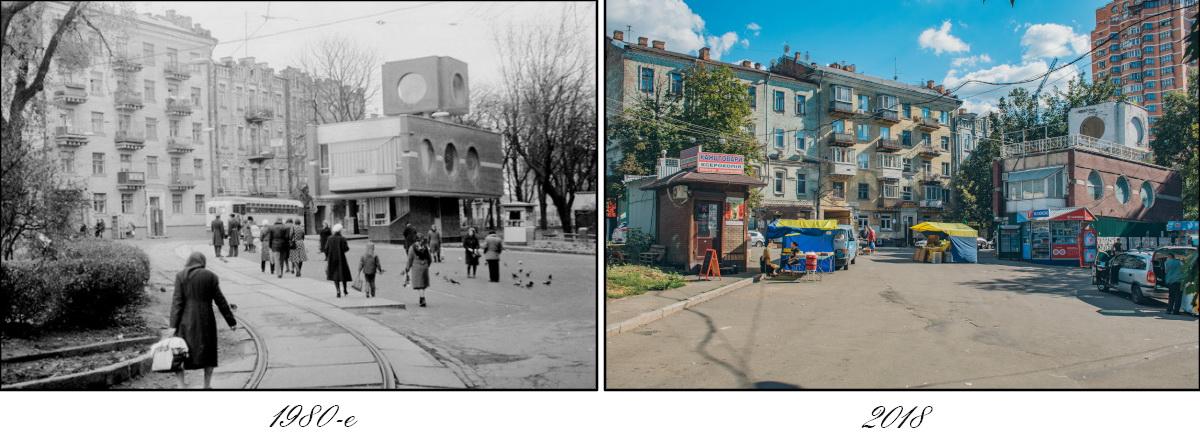 Когда ворота снесли и образовали площадь, которая до сих пор остается очагом интенсивной городской жизни