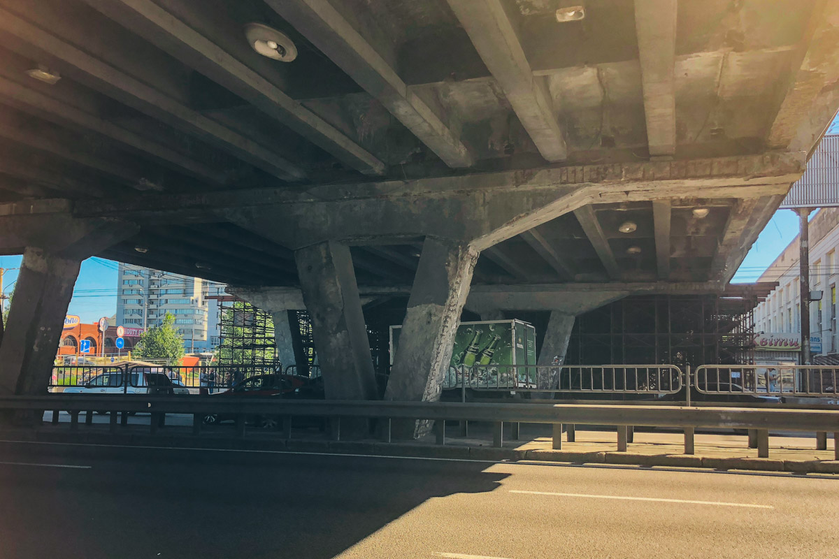 Мост ждун...