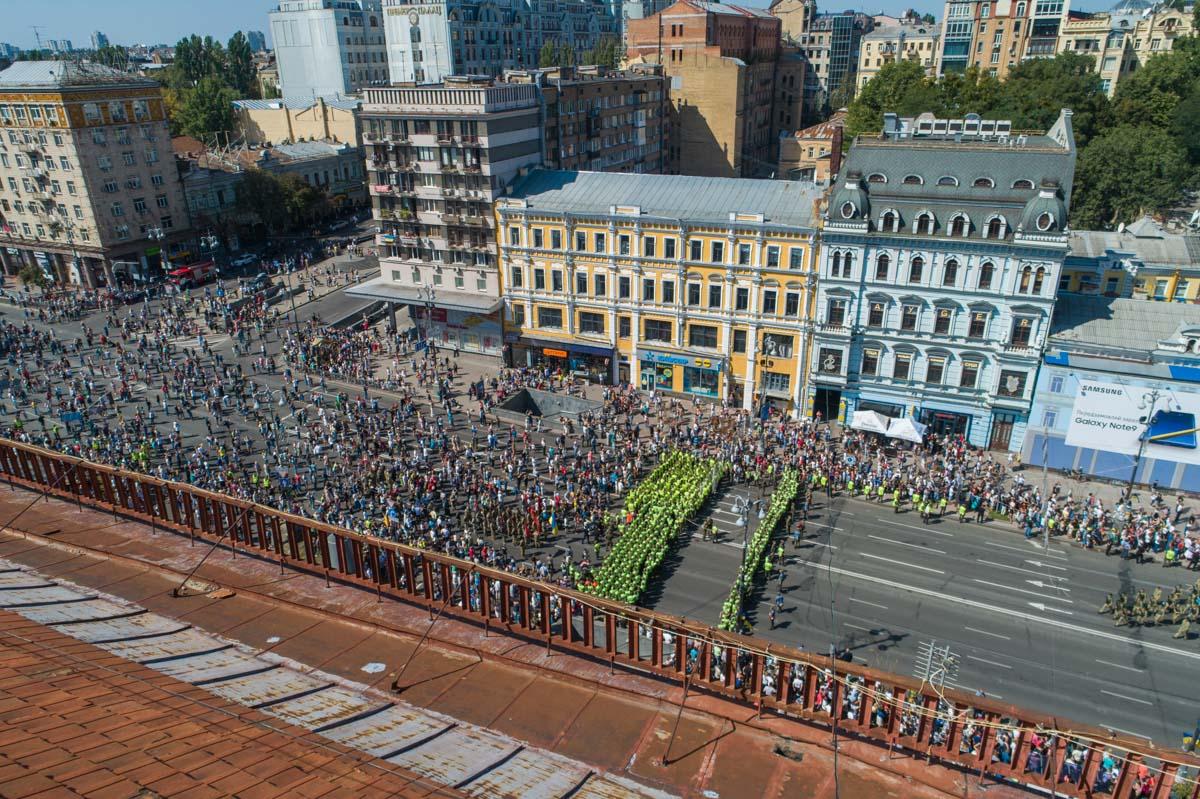 Центр Киева охраняют шесть тысяч полицейских