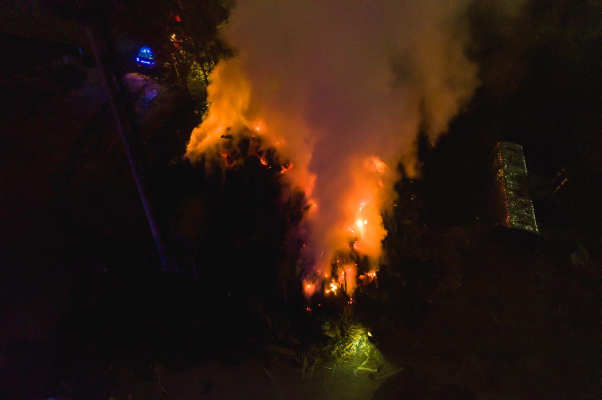 Площадь пожара составила около 2000 квадратных метров