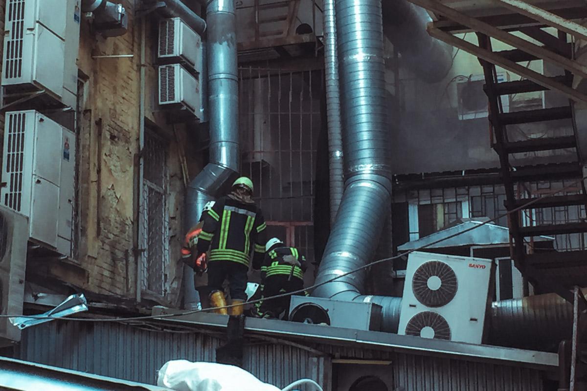 Площадь пожара составила более 35 квадратных метров