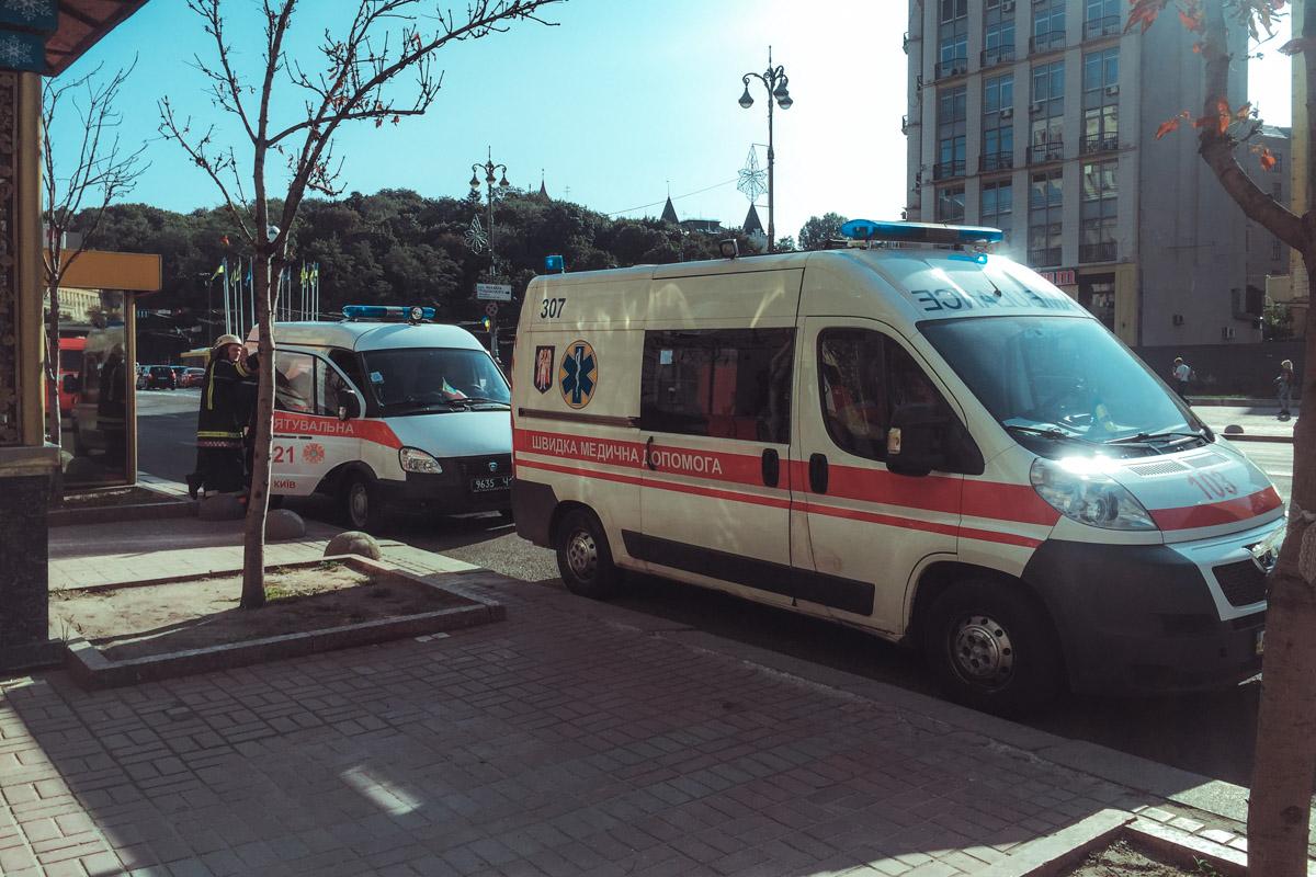 """На месте работало 3 единицы пожарно-спасательной техники и """"скорая"""""""