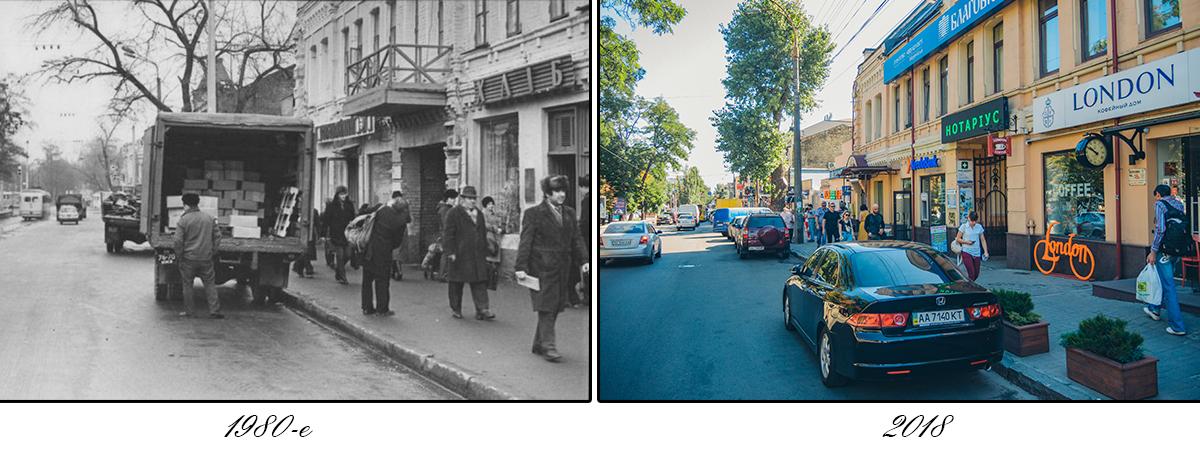 Сейчас на Верхнем Вале располагается самый старый рынок в Украине - Житний