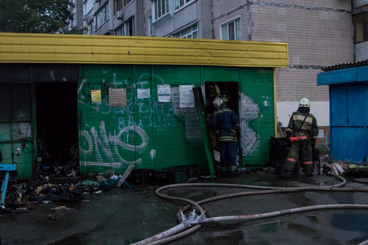 Во вторник, 28 августа, в Киеве на проспекте Героев Сталинграда, 46а произошел пожар