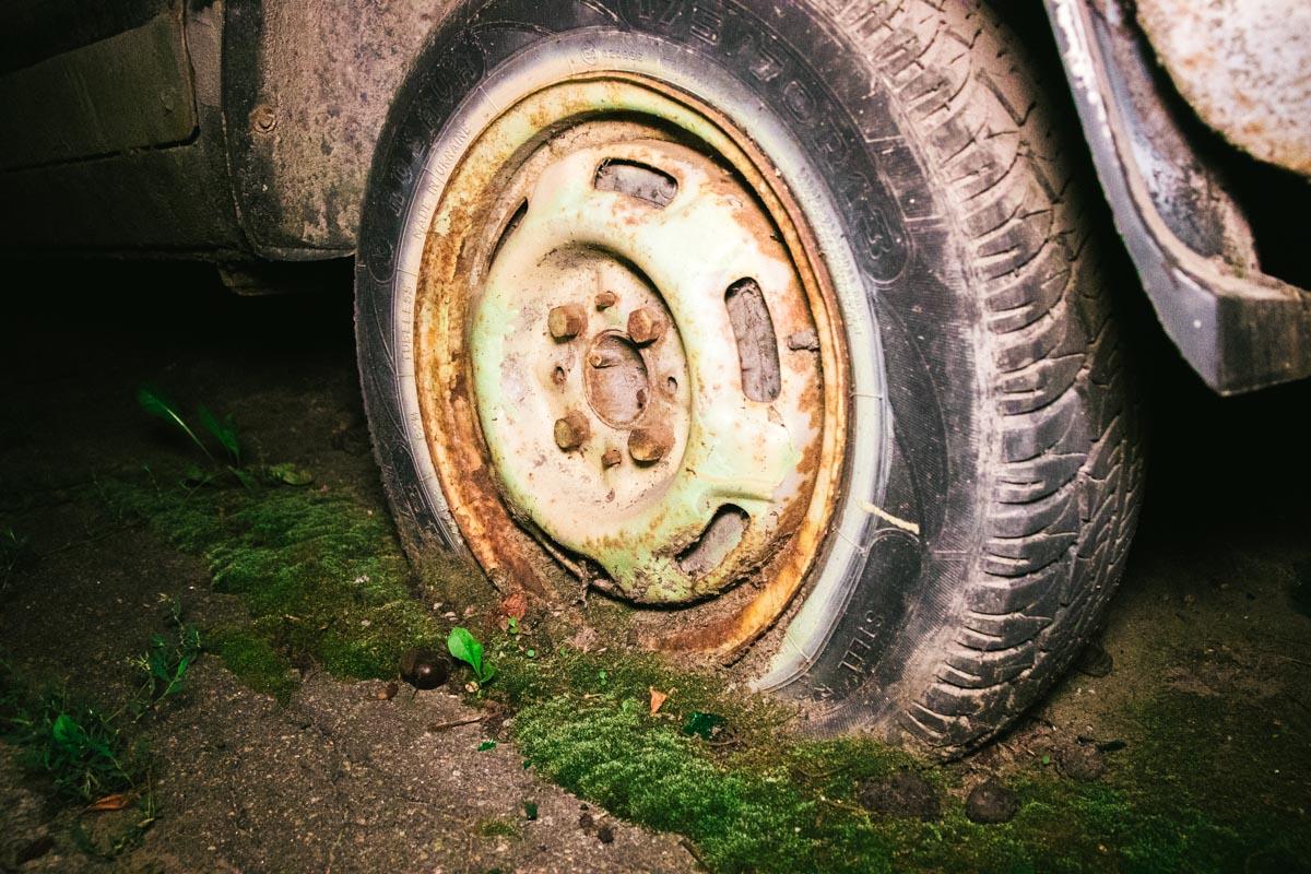 Его колеса не крутились уже около 3-4 лет