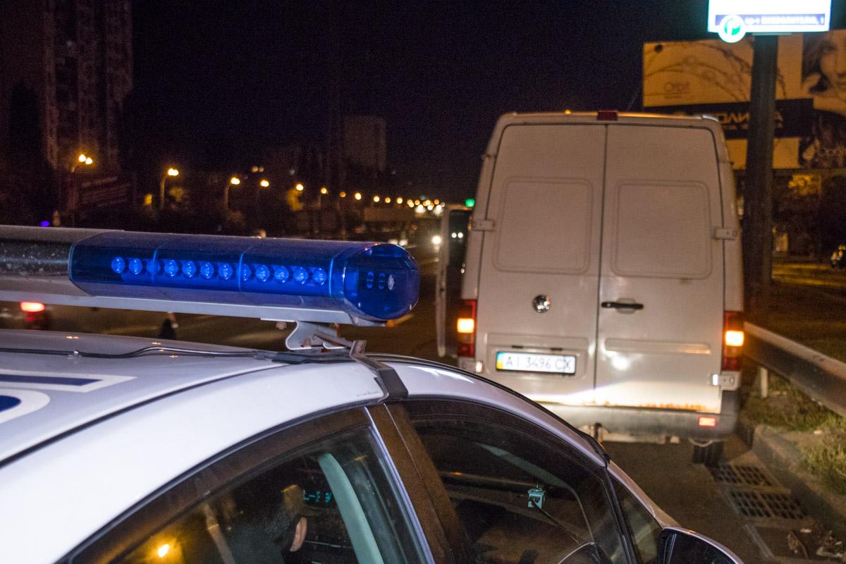 На месте работал экипаж патрульной полиции и «скорая»