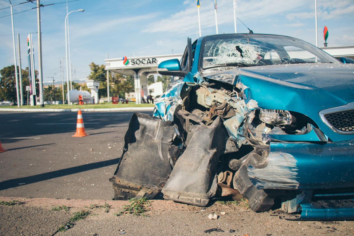 Пассажирку госпитализировали с травмой головы