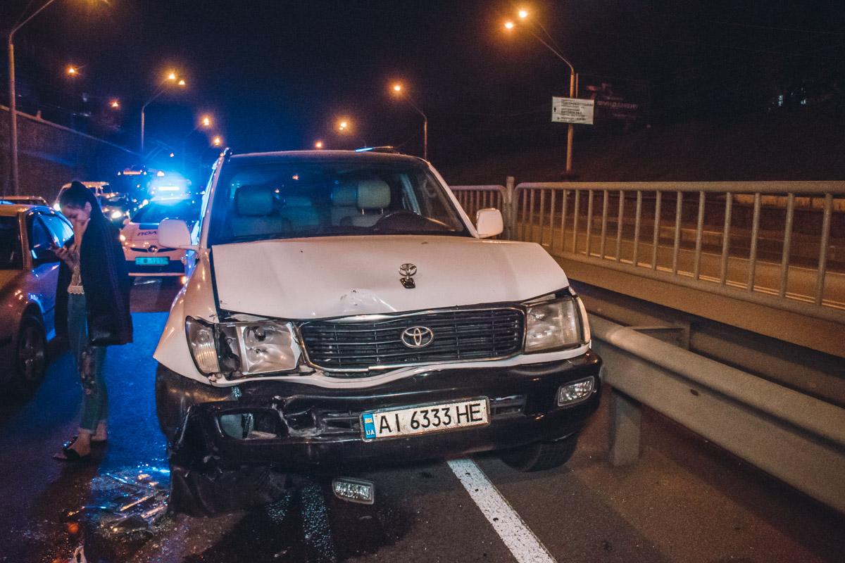 В аварии пострадал один человек, пассажиркаOpel