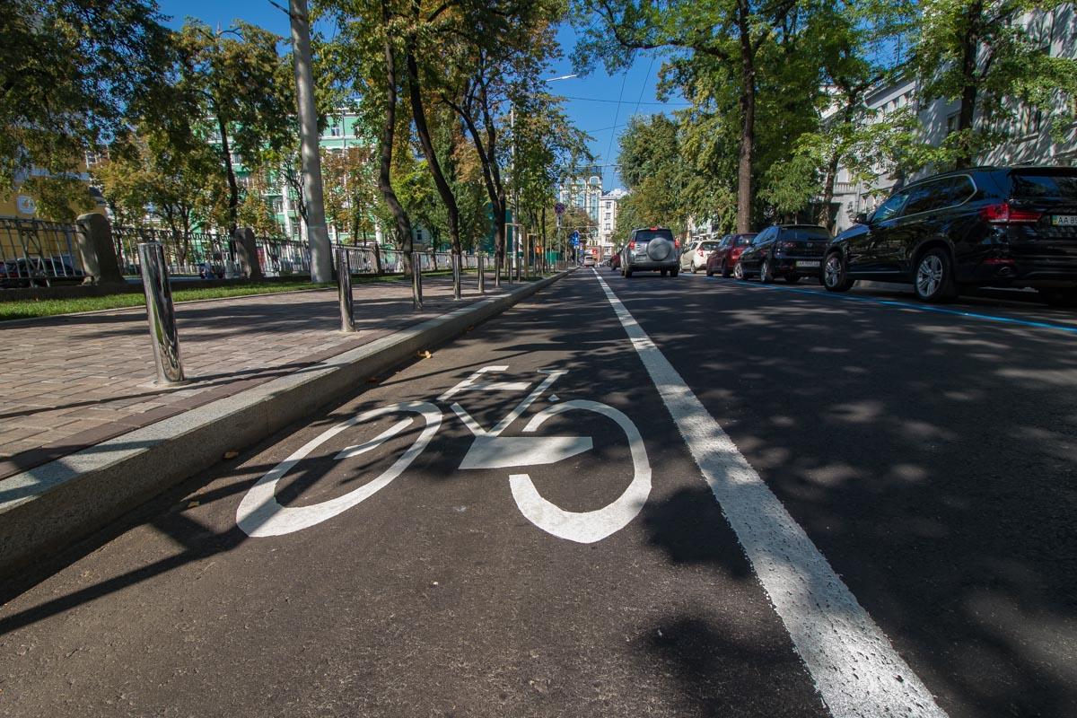 После капитальной реконструкции здесь появились велодорожки