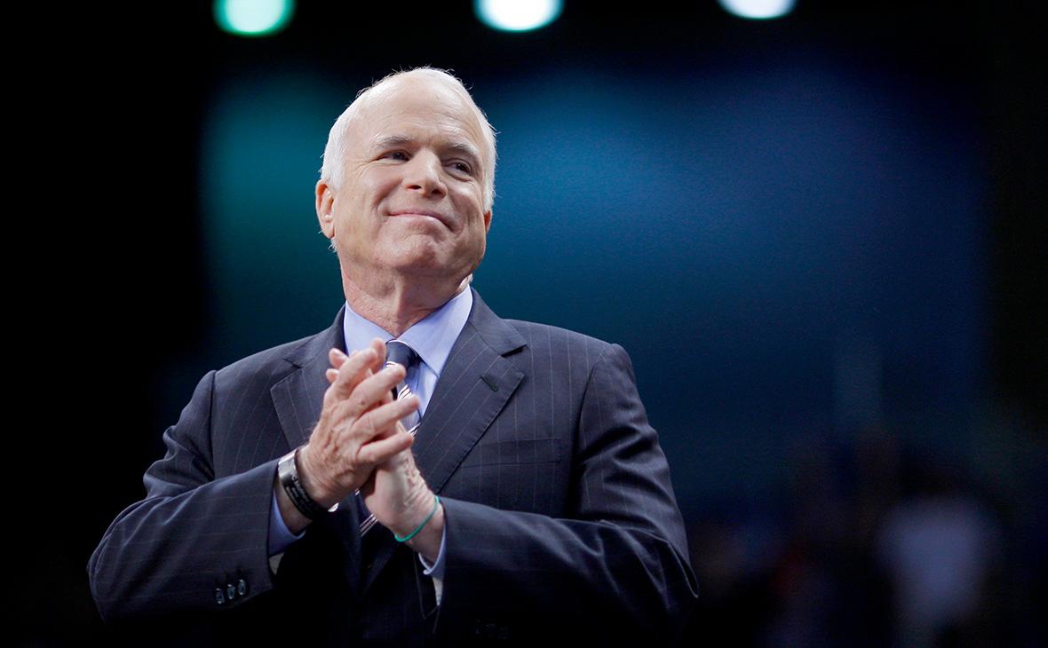 Сенатор отштата Аризона икандидат впрезиденты навыборах 2008 года Джон Маккейн