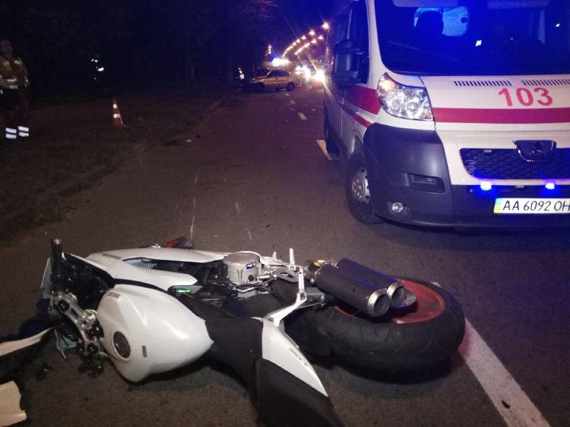 Авария произошла примерно в 21:10