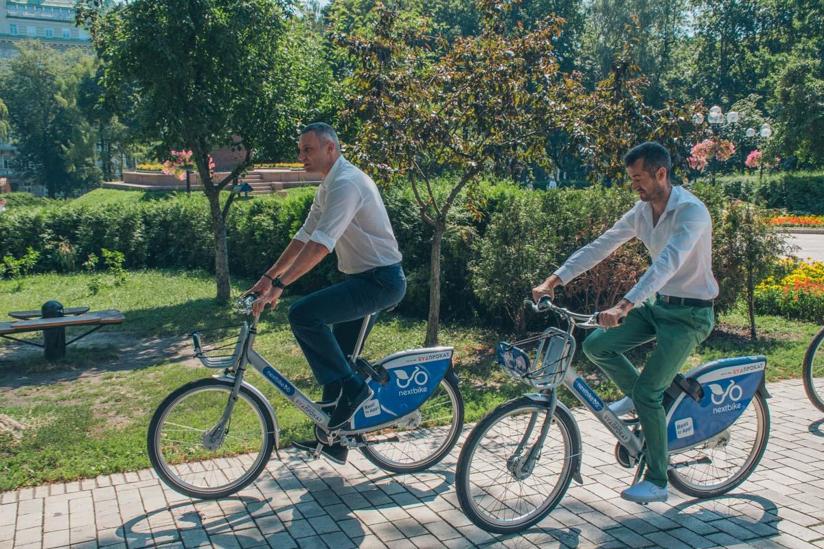 Если вы не вернули велосипед в течение 24 часов, придется заплатить штраф 15 000 гривен